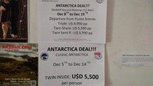Preço passeio 10 dias para Antartida